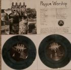 CHAINSAW TO THE FACE - Plague Worship - 7 EP (PSYCHO 029) BLACK